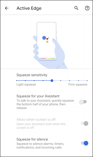 google pixel 4 - android - active edge -disable google assistant