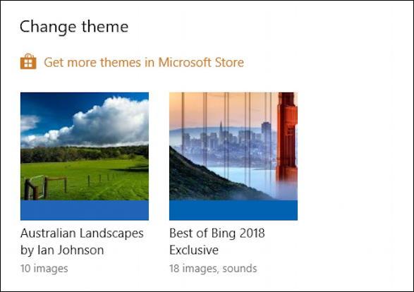 win10 windows 10 - get more themes microsoft store