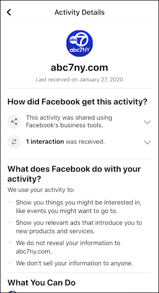 facebook - off facebook activity - abc7ny.com