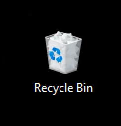 win10 recycle bin default icon
