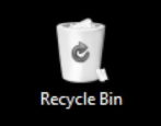 change update replace desktop icons recycle bin trashcan trash bin - windows 10 win10