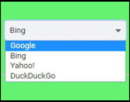 google chrome windows win10 default search engine - bing google duckduckgo