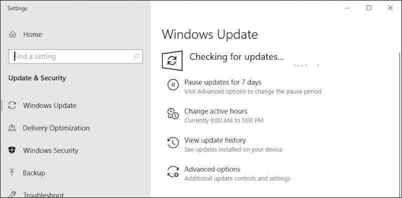 windows 10 update downloading