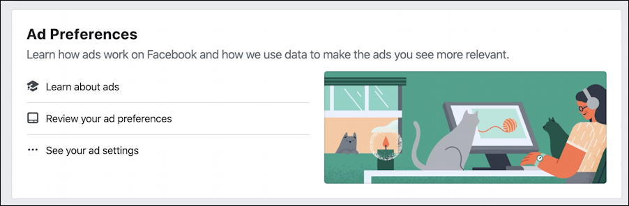 facebook ad settings preferences targeting - ad preferences