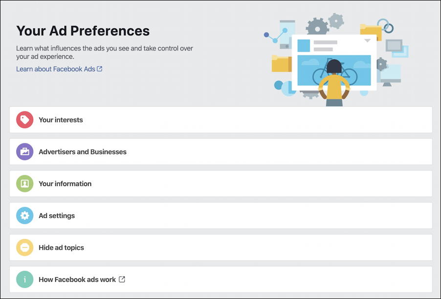 facebook ad settings preferences targeting - facebook ad preferences