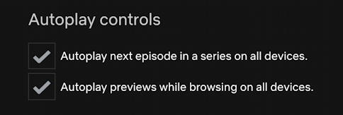 netflix disable turn off autoplay previews next episode settings preferences