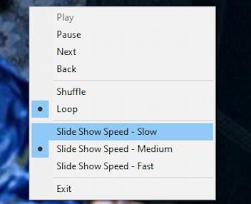 win10 slide show options, file explorer windows 10