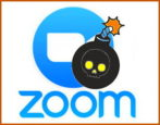 stop prevent zoombombing zoom video chat conference webinar