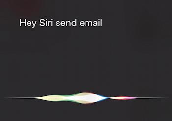 hey siri send email iphone ios13