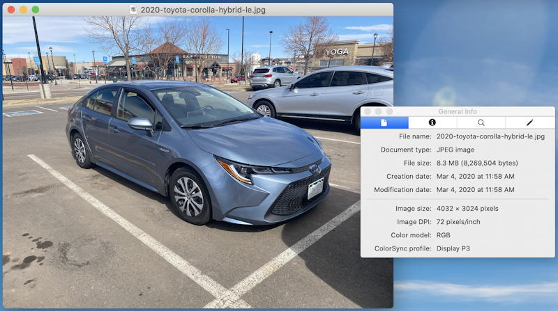 image open in mac preview app, dimensions shown