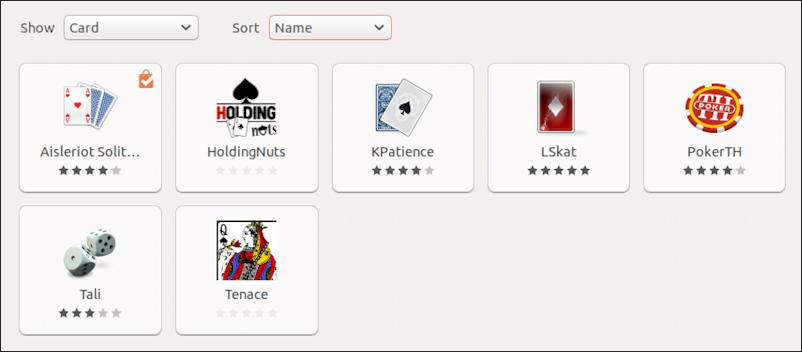 ubuntu linux card game programs games