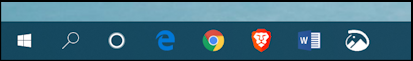win10 remove cortana taskbar - original taskbar search cortana