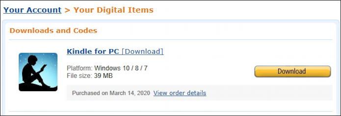 amazon - download kindle reader for windows - digital