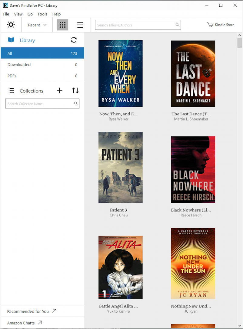 kindle reader for windows win10 - app download microsoft