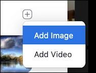 zoom virtual background - add image / add video