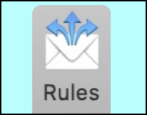 create email filters rules apple mail mac macos x