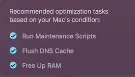 cleanmymac x review - optimization speed faster mac
