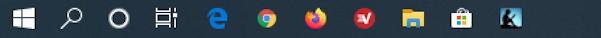 expressvpn on taskbar shortcut icon windows win10