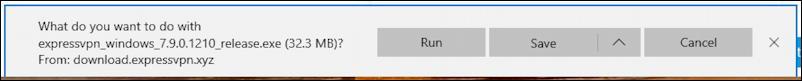 installing expressvpn windows - now what? download save, run