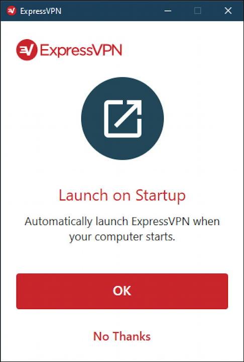 expressvpn launch on startup