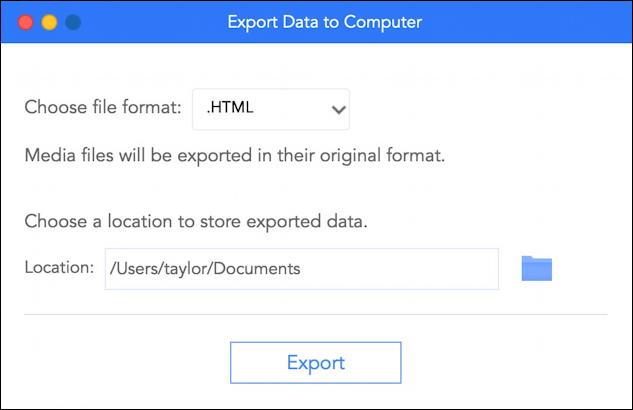 imyfone itransor lite - iphone ipad backup utility - ready to export