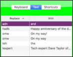set up easy keyboard typing shortcuts mac macos x macbook pro air