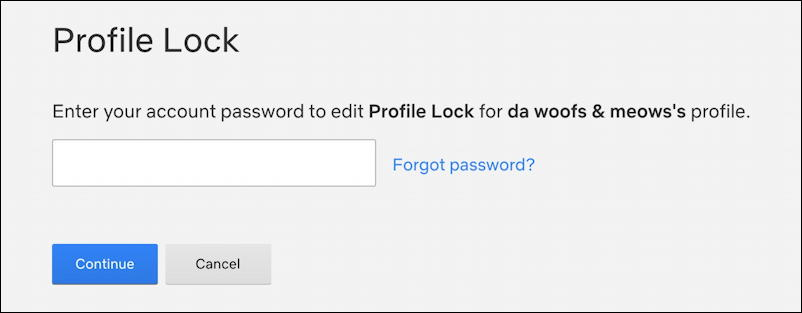 netflix add profile security pin - enter pin number