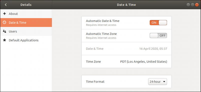 ubuntu linux - wrong time timezone - date and time