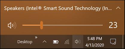 windows 10 win10 change audio speaker output device - volume