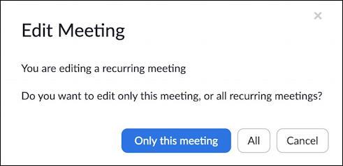 edit this meeting or all meetings? - set zoom meeting password