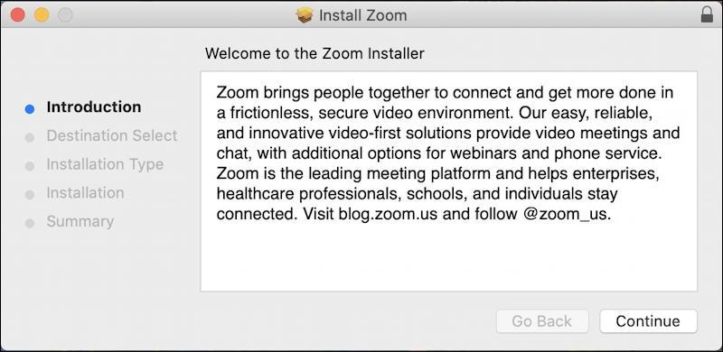 zoom update installer mac macos x