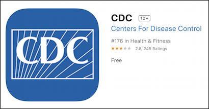 cdc iphone ios app
