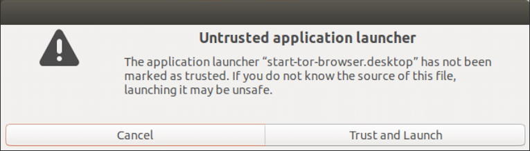 linux - safe to run unknown app?