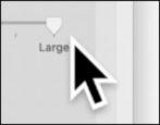bigger smaller mac macos x cursor size visibility