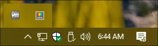 powertoys launch icon on taskbar