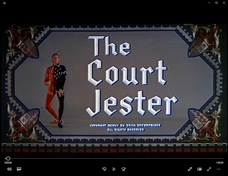 danny kaye - the court jester - dvd to mp4