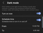 schedule dark mode android 10 tcl