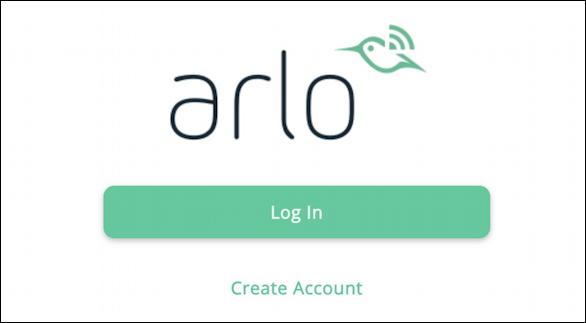 login to arlo.com (netgear)