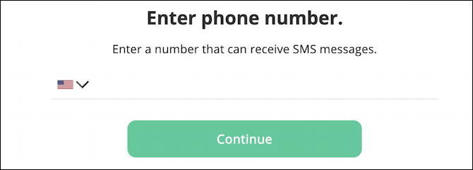 my arlo.com - enable two-step verification - enter phone number