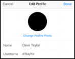 change instagram profile photo picture temporary blm