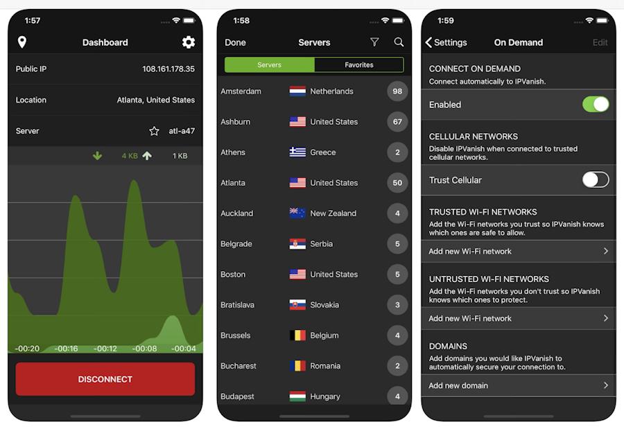IPVanish on Mobile