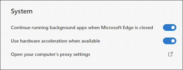 microsoft edge web browser win10 pc - run background apps