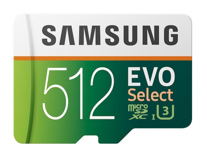 samsung 512gb u3 microsd card SDXC