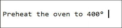 windows text -added unicode degree symbol