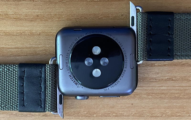apple watch - band partially removed released watch band