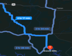 apple maps driving route preferences settings directions