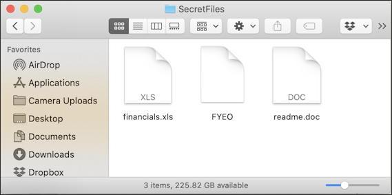 mac folder finder xls doc