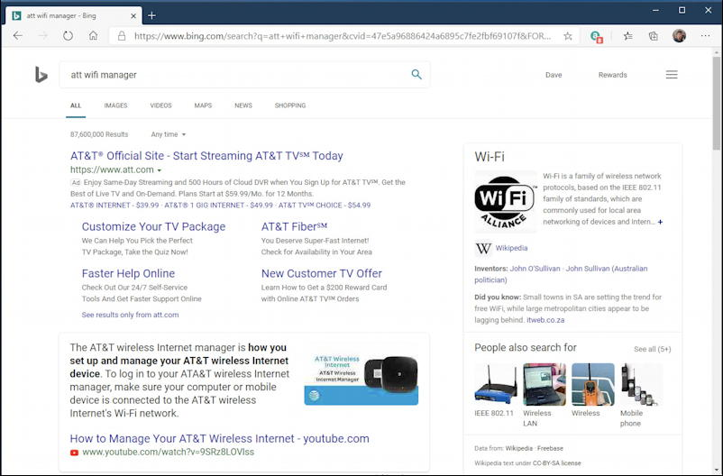 attwifimanager google search