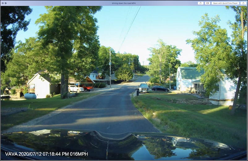 4k dashcam video sample on mac