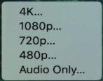 shrink video mac macos quicktime player 4k 1080p 720p 480p
